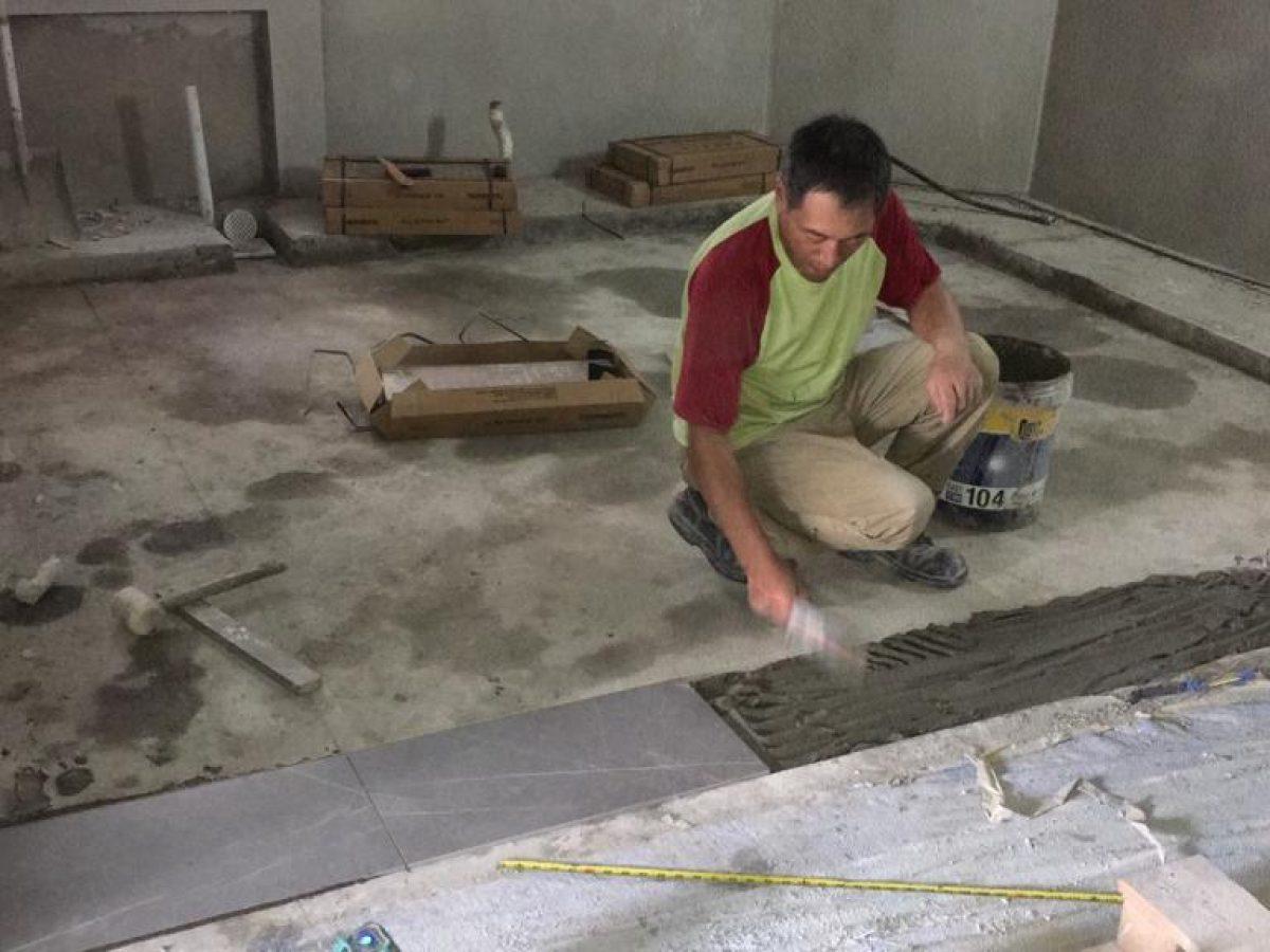 Singapore Tiling Work List, Preparing Concrete Bathroom Floor For Tiling